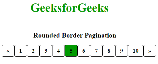rounded border pagination